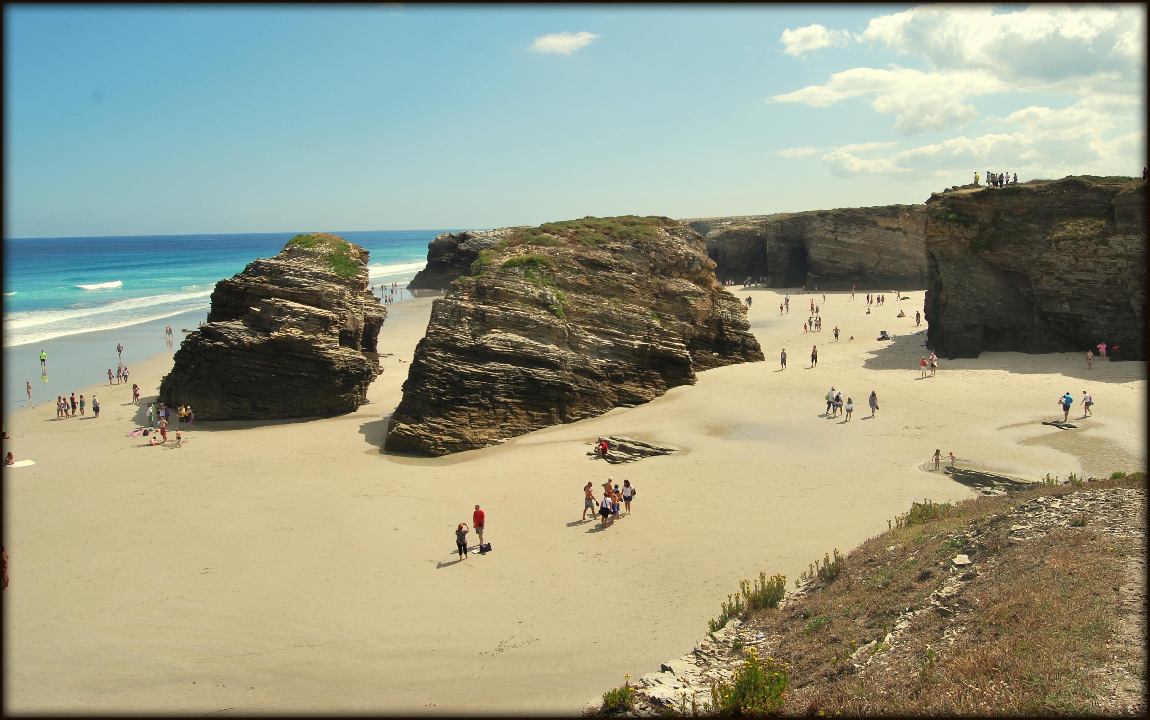playa de las catedrales informacion mareas
